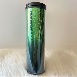 STARBUCKS 2019 HOLIDAY GLITTER HOT/ COLD TUMBLER